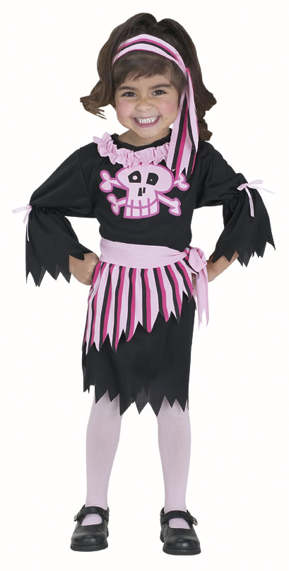 Toddler Pink Pirate Costume