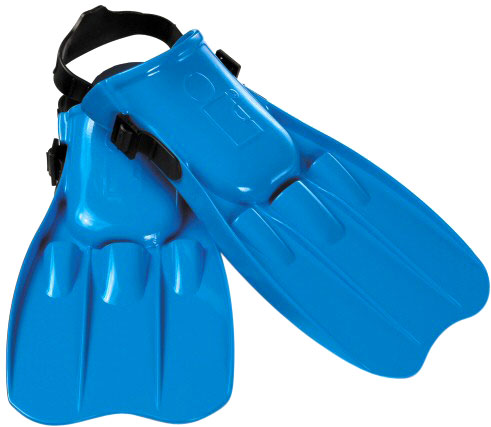 Large Kids Swim Fins