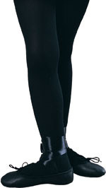 Child's Solid Black Tights