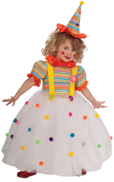 Child Candy Clown Costume