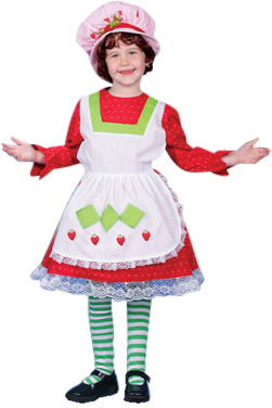 Deluxe Toddler Strawberry Shortcake Costume