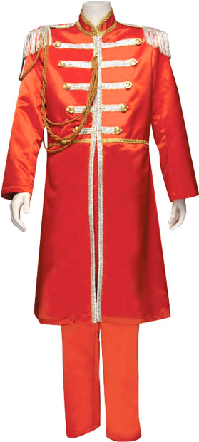 Adult Deluxe Red Sgt. Pepper Costume