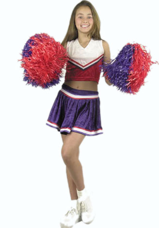 Child's Cheerleader Costume