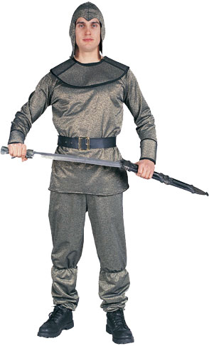 Adult Gold King Arthur Costume