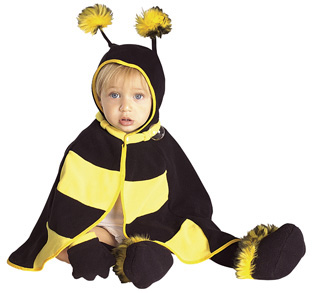 Baby Bumble Bee Cape Costume