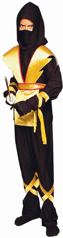 Child's Ninja Master Yellow Costume