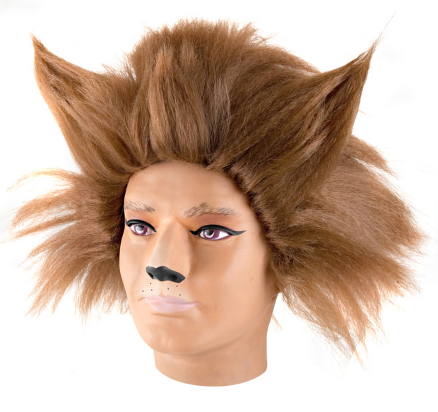 Brown Cats Musical Costume Wig