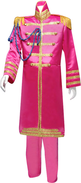Adult Deluxe Pink Sgt. Pepper Costume