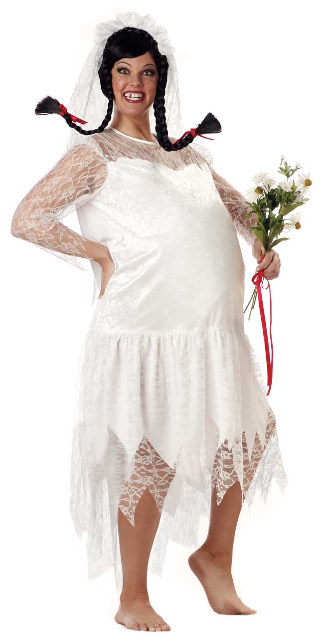 Plus Size Hillbilly Bride Costume