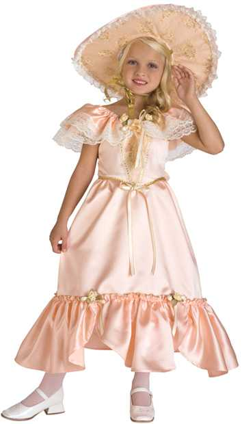 Child's Georgia Peach Southern Bell Costume