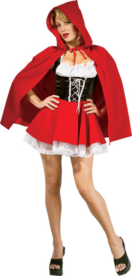 Deluxe Adult Sexy Red Riding Hood