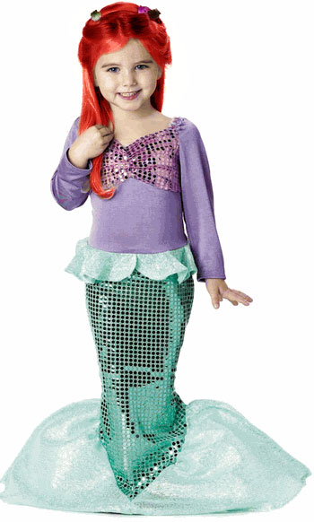 Child's Little Mermaid Costume