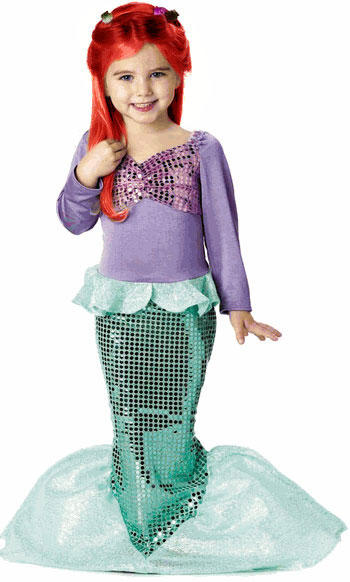 Toddler Wistful Mermaid Costume