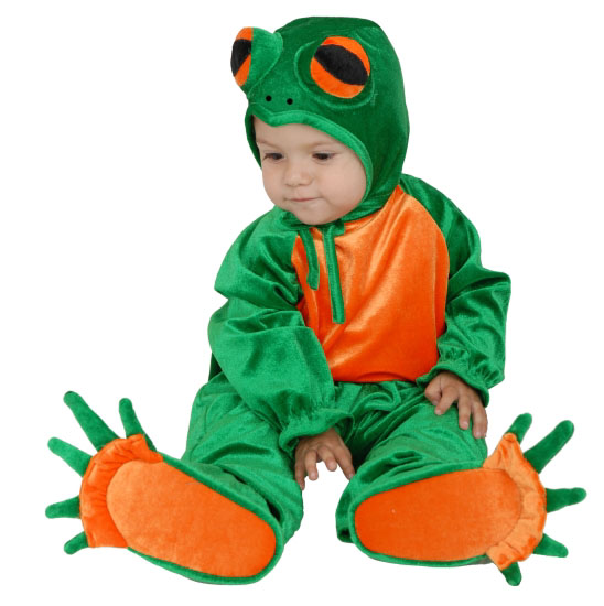 Infant Little Frog Costume