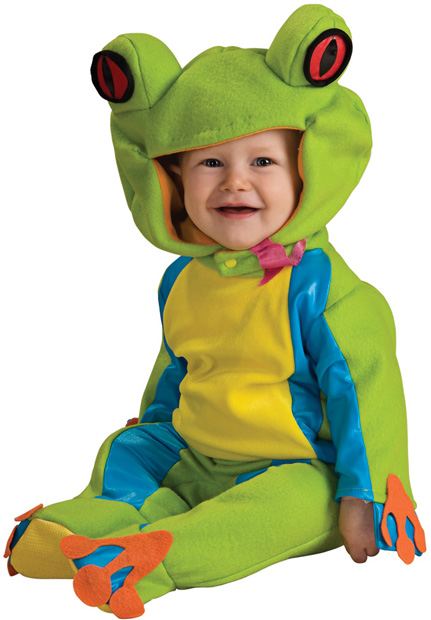 Baby Colorful Tree Frog Costume