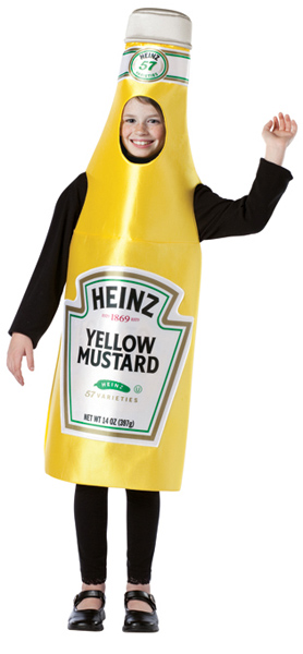 Child's Heinz Mustard Costume