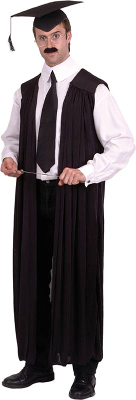 Adult Teacher Costume Gown