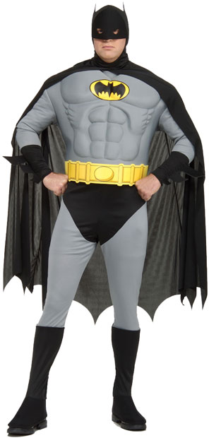 Plus Size Batman Costume