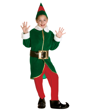 Child's Christmas Elf Costume