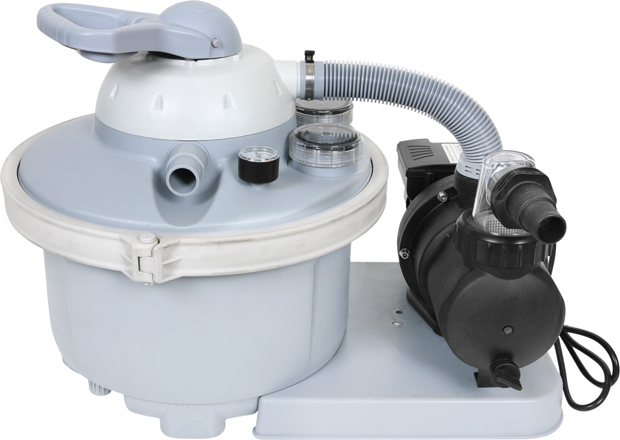 Buy a 1 2 horsepower sand filter system for intex pools for Obi filtersand pool