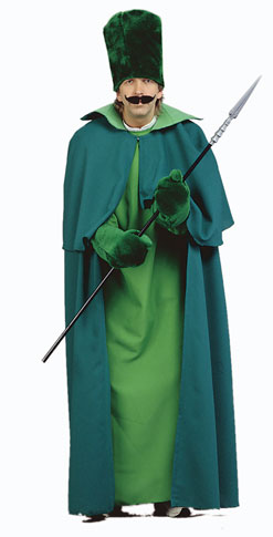 Adult Emerald City Guard Costume  sc 1 st  Brands On Sale & Adult Emerald City Guard Costume | Wizard of Oz Costumes ...