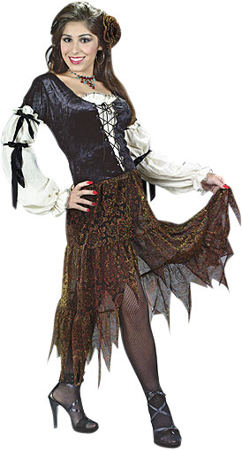 Adult Gypsy Rose Costume