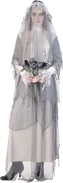 Women's Ghost Bride Costume