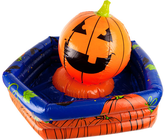 halloween party inflatable pumpkin beverage cooler