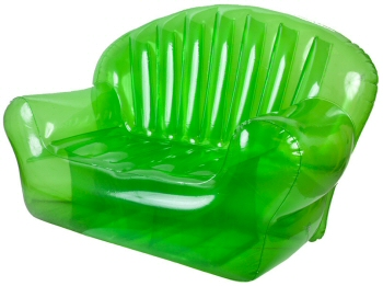 Inflatable Transparent Green Bubble Couch