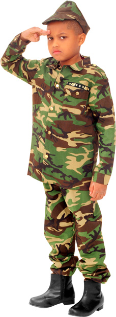Child's Army GI Costume