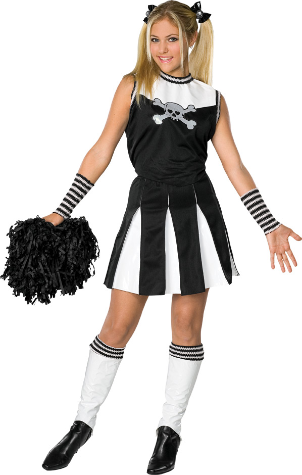 Preteen Bad Spirit Cheerleader Costume