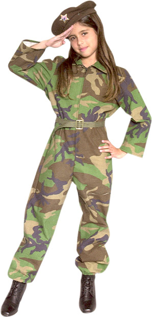 Childu0027s GI Army Girl Costume  sc 1 st  Brands On Sale & Childu0027s GI Army Girl Costume | Army Soldier Girl Costumes ...