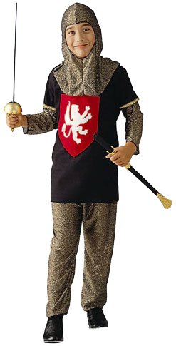 Child's Medieval Knight Costume