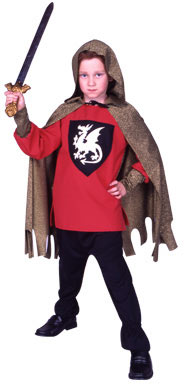 Child's Medieval Red Dragon Knight