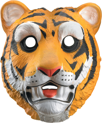 Child's Tiger Mask | Clemson Tigers Game Day Costumes