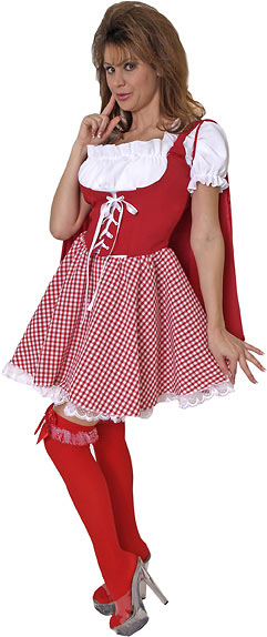 Adult Miss Little Red Costume
