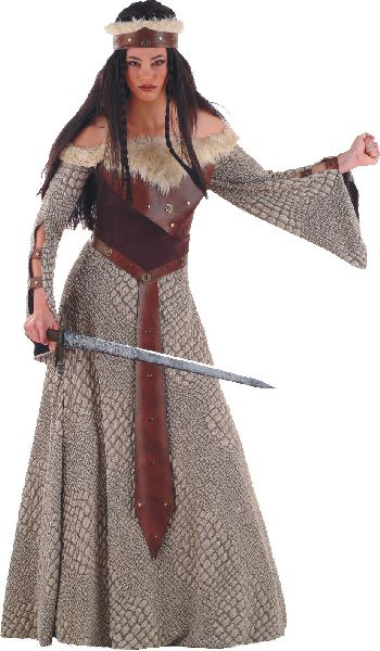 Medieval Warrior Lady Costume