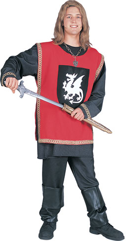 Adult Red Knight Costume