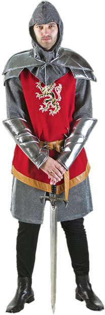 Authentic Adult Medieval Knight Costume