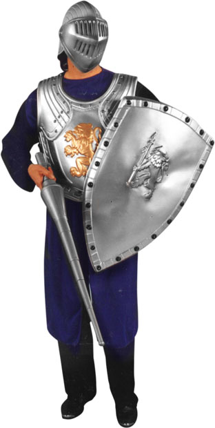 Adult Armored Knight Costume