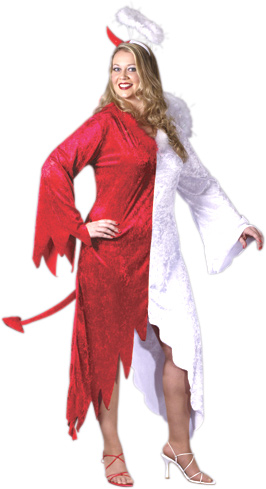 Plus Size Devil Angel Costume