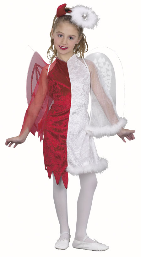 Child's Devil Angel Costume