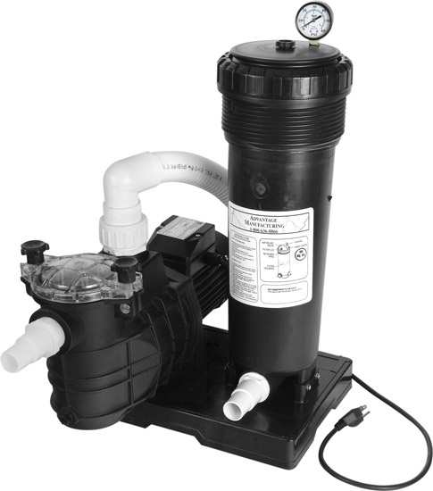 Heavy Duty 1 Hp Pump For Above Ground Pools Advantage Above Ground Pool Filter System