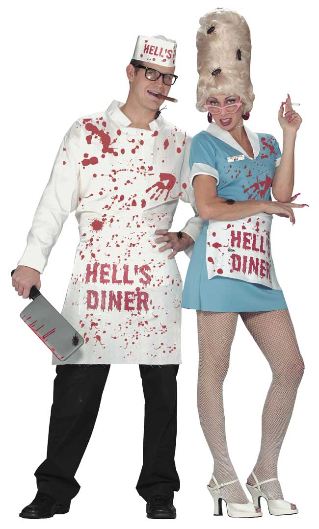 Hellu0027s Cook Costume  sc 1 st  Brands On Sale : chef halloween costumes  - Germanpascual.Com