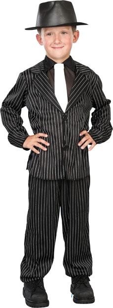 Child's Clyde Gangster Costume