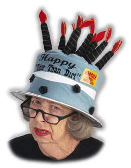 Older Than Dirt Birthday Cake Hat