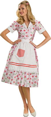 Women's Perfect Housewife Costume