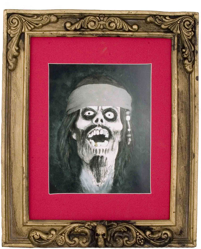 Pirate Picture Frame Halloween Prop | Pirate Props & Decorations ...