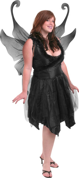 Plus Size Sexy Dark Fairy Costume  sc 1 st  Brands On Sale & Plus Size Sexy Dark Fairy Costume | Gothic Fairy Costumes ...