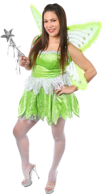 cheap for sale new lifestyle new styles Plus Size Sexy Pixie Fairy Costume | Tinkerbell Costumes ...